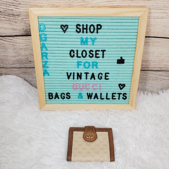 Gucci Handbags - Vintage Gucci Mini wallet